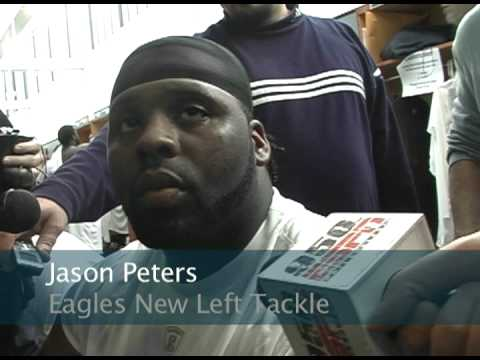 Jason Peters After Eagles Mini Camp