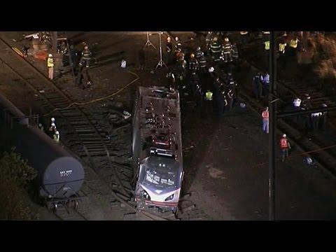 Amtrak Train Derails Near Philadelphia