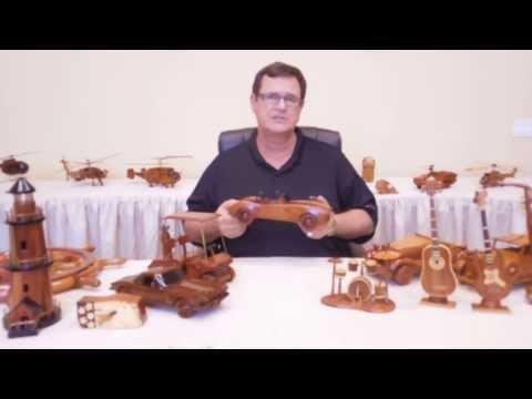 Handcrafted Mahogany Natural Wood Gifts