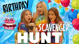 BIRTHDAY SCAVENGER HUNT (What I got for my 11th Birthday) | Piper Rockelle