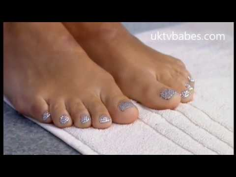 Holly's Feet Get A Makeover