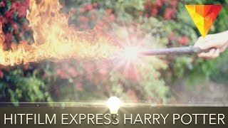 How to Create a Harry Potter Spell Effect in Hitfilm 4 Express
