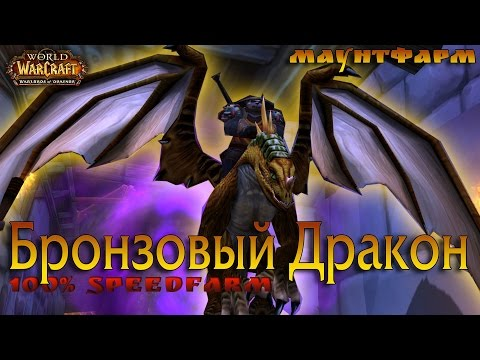 Бронзовый дракон 100% халява в Очищении Стратхольма (в пещерах времени)