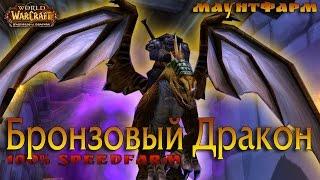 Бронзовый дракон 100 халява в Очищении Стратхольма (в пещерах времени)