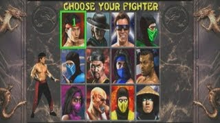 Mortal Kombat 2 Arcade - Playthrough (XBOX 360)