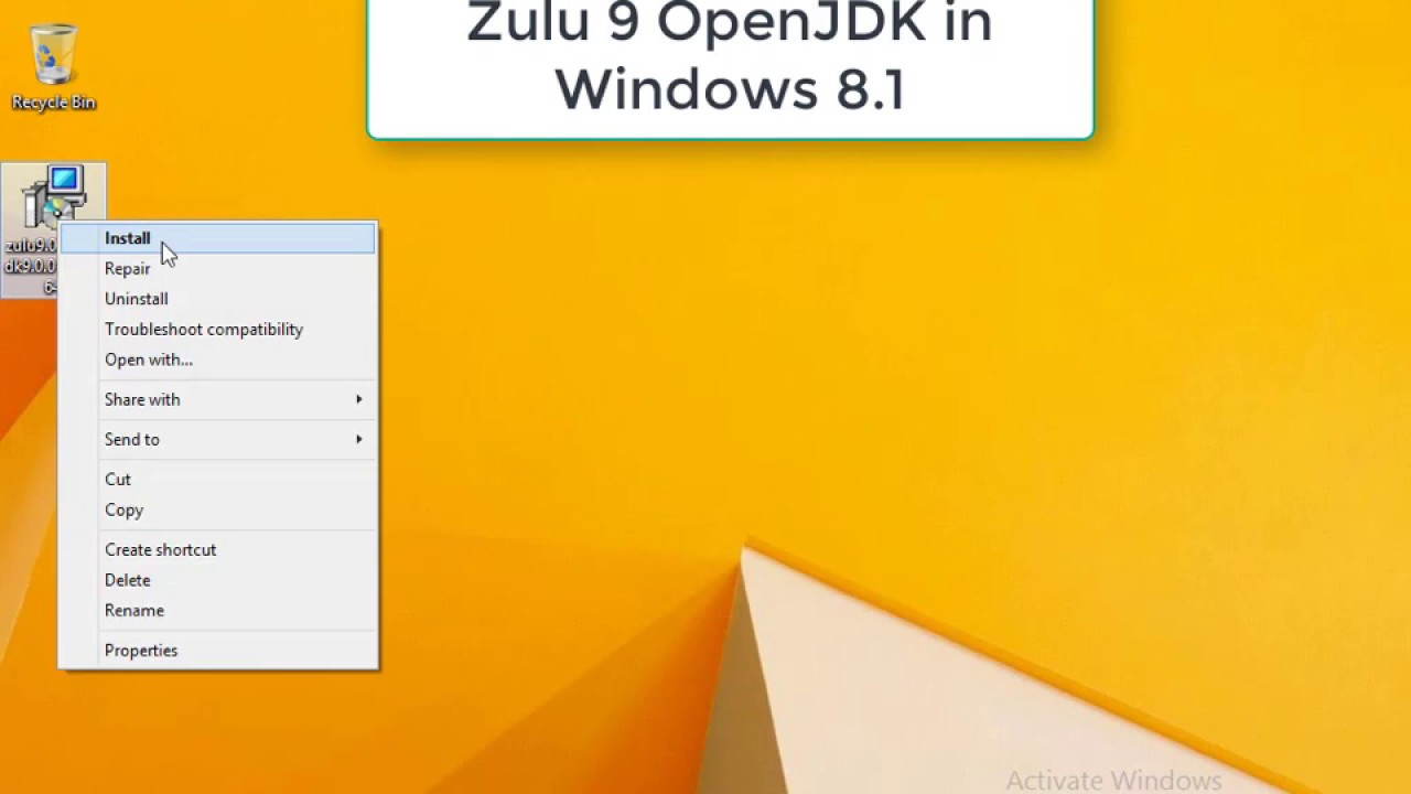 Openjdk Windows
