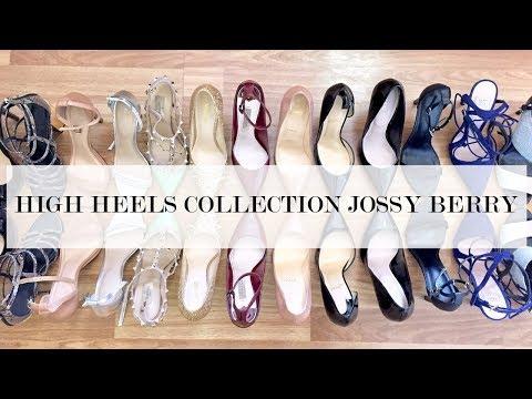 เปิดกรุรองเท้าส้นสูง High Heels Collection | Jossy Berry