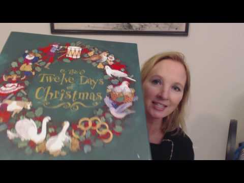 ASMR Whisper ~ 12 Days of Christmas Box Show & Tell