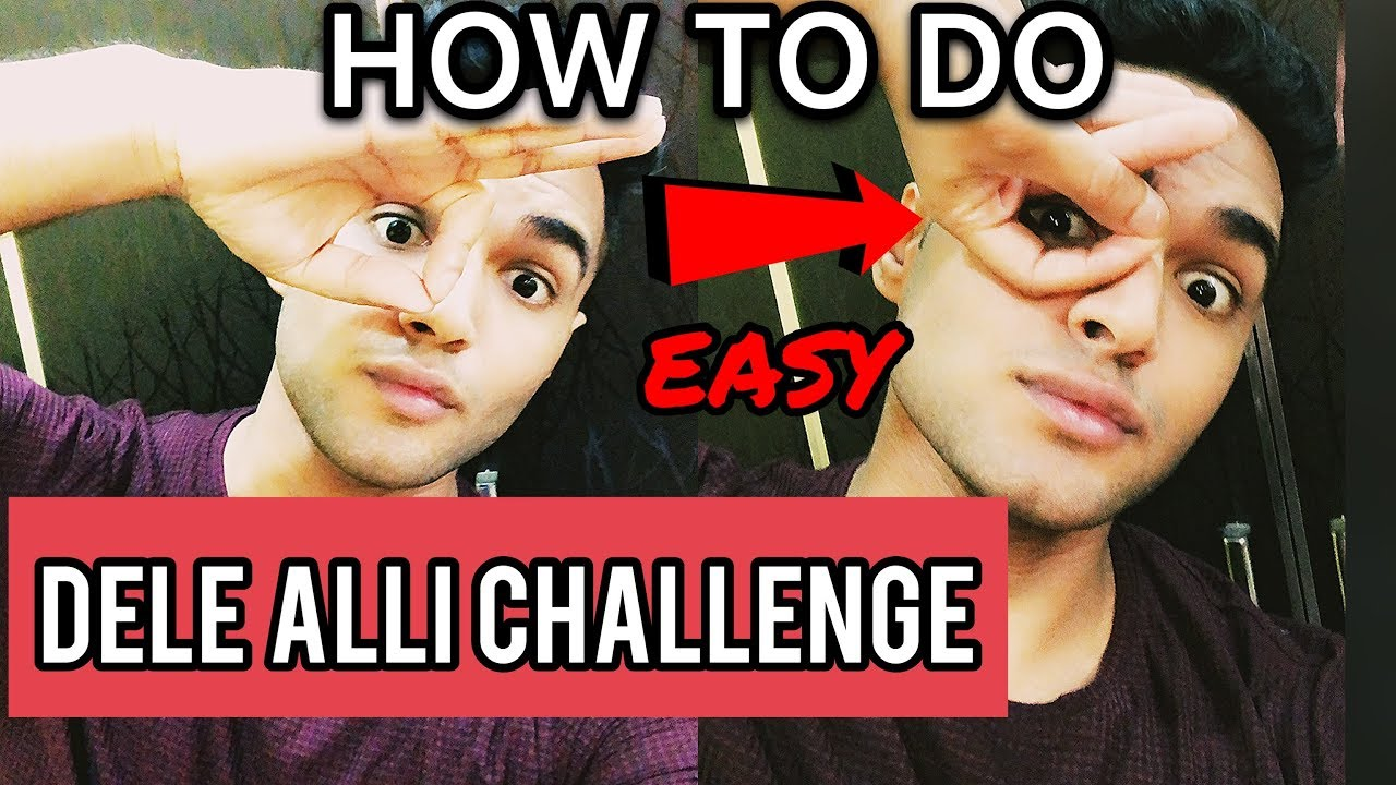 HOW TO DO THE DELE ALLI CHALLENGE (HAND CELEBRATION) EASY TRICK TUTORIAL
