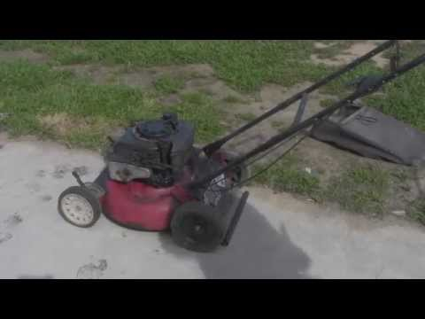 """Fixed a Murray 20"""" 5HP Lawn Mower"""