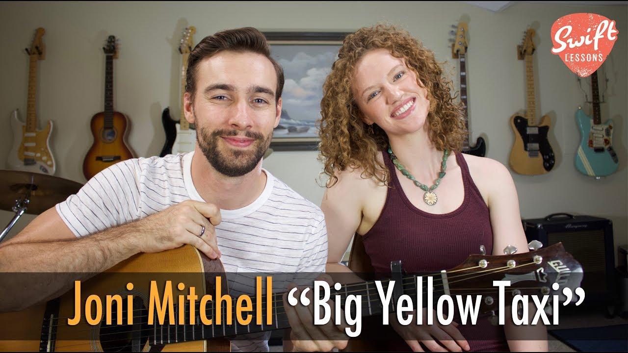 Big yellow taxi guitar