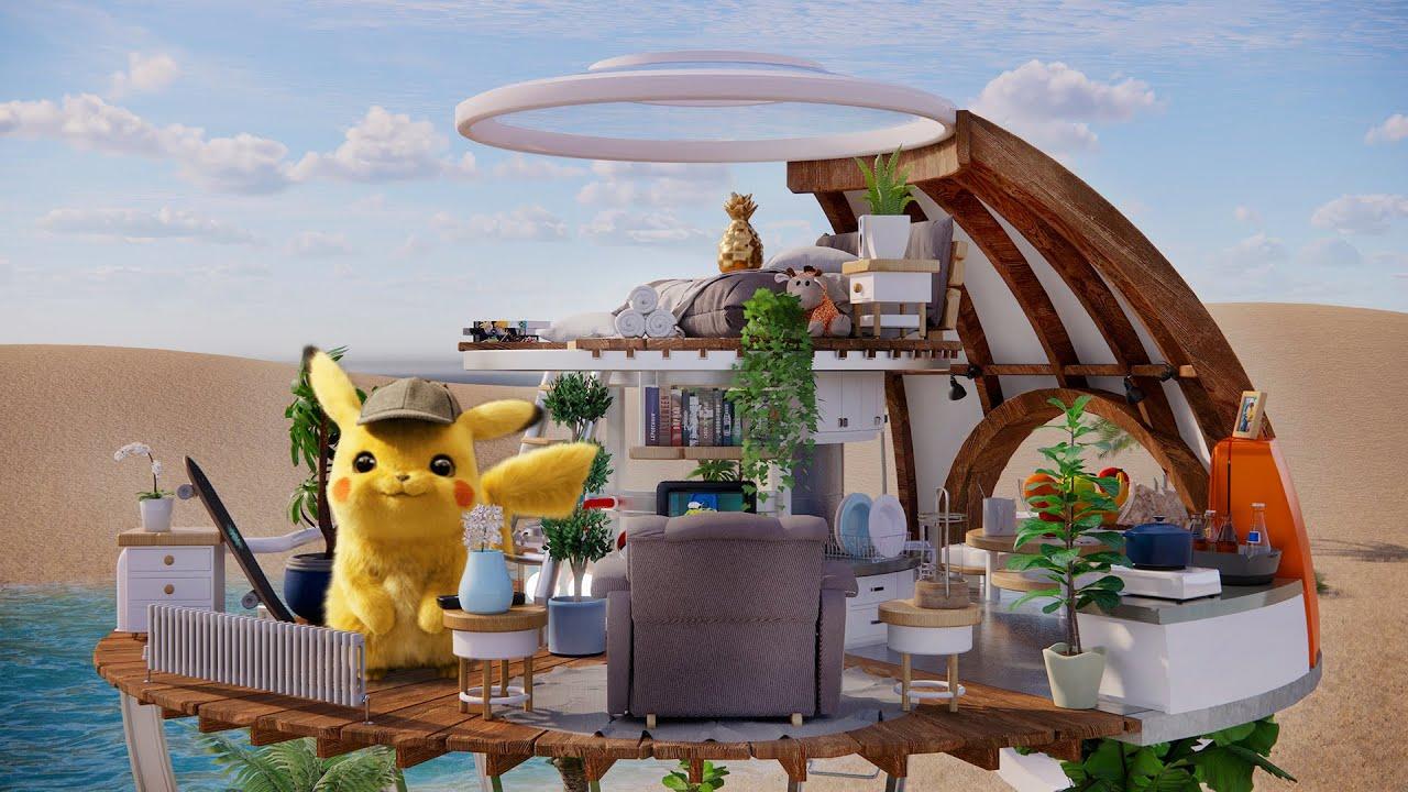 I Made a House for Pikachu