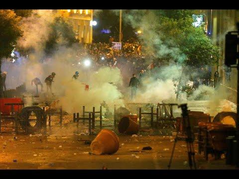 لبنان: صدامات بين المتظاهرين وقوات الأمن ووزيرة الداخلية تحذر من وجود -عناصر مندسة-  - نشر قبل 11 ساعة