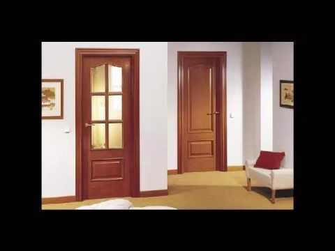 Precios puertas de madera interiores youtube for Modelos de puerta de madera para casa