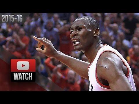 Bismack Biyombo Full Game 3 Highlights vs Cavaliers 2016 ECF - 7 Pts, 26 Rebounds