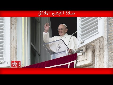 صلاة التبشير الملائكي ١٤ حزيران ٢٠٢٠ البابا فرنسيس