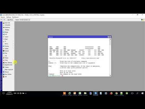 شرح برمجة IP Address & DHCP Server  في ميكروتيك Mikrotik م  رمضان النواجحة