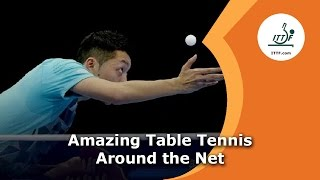 Amazing Table Tennis Around the Net