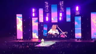 Taylor Swift performing We Are Never Ever Getting Back Together at O2 London Jingle Bell Ball