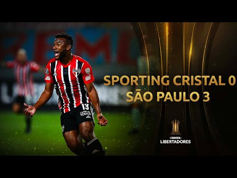 Sporting Cristal Sao Paulo Goals And Highlights