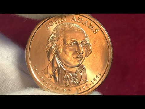 1 US Dollar 2007 John Adams