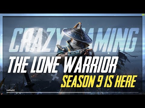 🔴PUBG MOBILE LIVE🔴 | SEASON 9 IS HERE | IT'S TIME TO BECOME WARRIOR [HINDI & BENGALI]