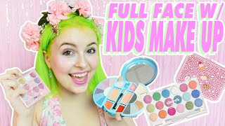 One of Pixielocks's most viewed videos: ♡ FULL FACE WITH KIDS MAKE UP ♡