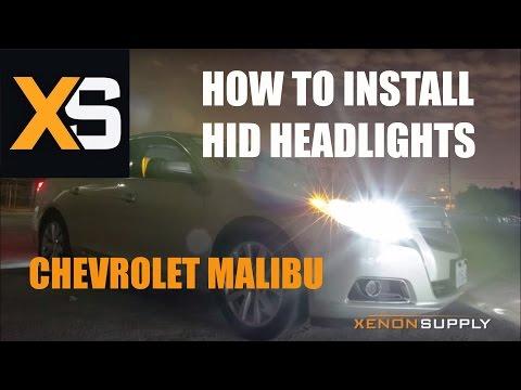 Chevrolet Malibu HID - How To Install HID Xenon 2013+