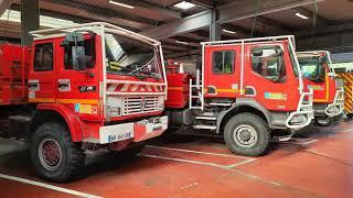 (SDIS 84) Caserne + véhicules sapeurs-pompiers Carpentras!