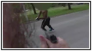 Armed Suspect Shoots At Milwaukee Police (Javon Lewis) | Body Cam & 911 | United States | 20190608