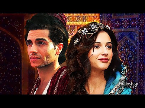 Aladdin (2019) - First Look at Aladdin & Princess Jasmine (Unofficial)