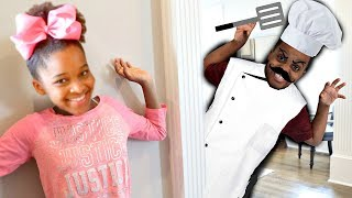Shiloh CRAZY CHEF!! - Cooking GONE WRONG - Shiloh and Shasha Onyx Kids