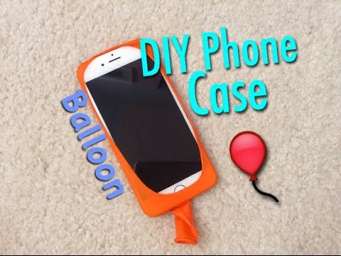 new product 17eea 1a2ad How to Make Your Own Phone Case using BALLOON