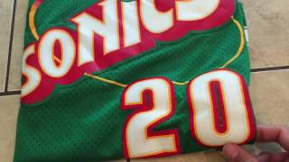 Gary Payton Sonics Jersey review from dhgate / aliexpress cheap