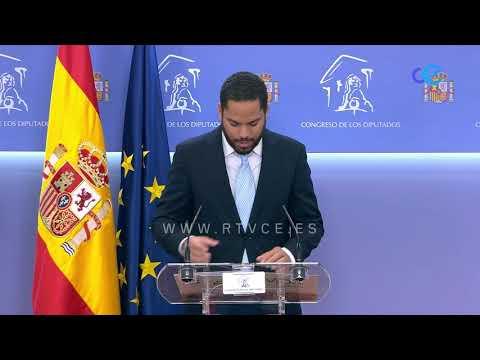 Santiago Abascal defenderá en el congreso su candidatura