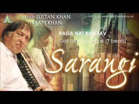 Ustad Sultan Khan & Ikram Khan   Raga Nat Bhairav Gat (Slow)   Live At Saptak Festival