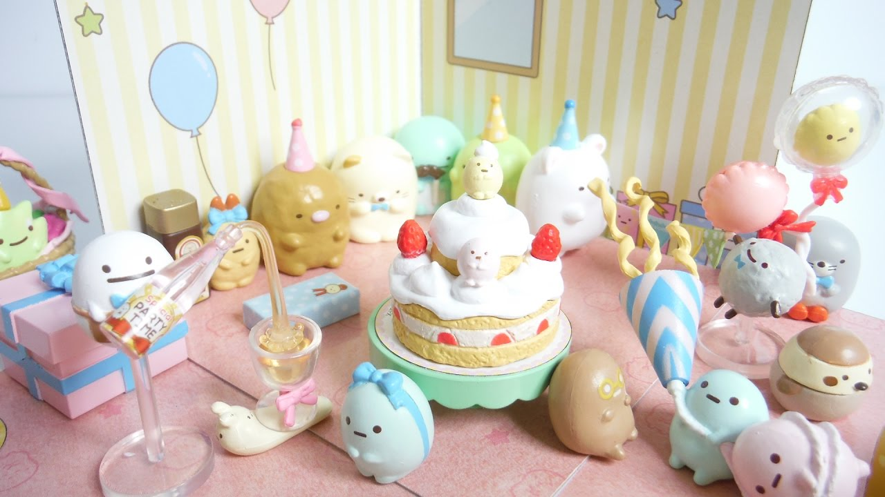 Re-Ment Japan Miniature Sumikko Gurashi Drug Store rement Full set of 8 Lebensmittel & Getränke für Puppenstuben & -häuser