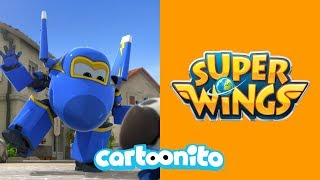 Super Wings | Jerome The Dog Trainer | Cartoonito UK