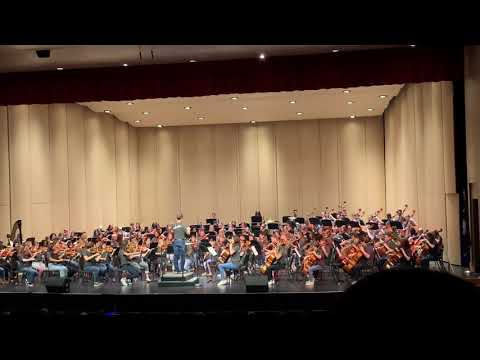 October 17, 2019 Carmen Suite No. 1 Charleston School of the Arts. Grades 6 to 12, by Dir.Dr. Selby