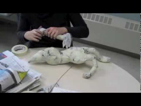 How to Make Paper Mache Alebrijes - Step One (Armature)