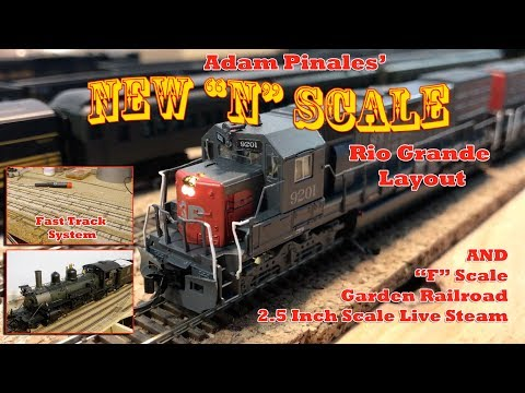 "Adam  Pinales' New ""N"" scale Railroad – Garden Railroad"