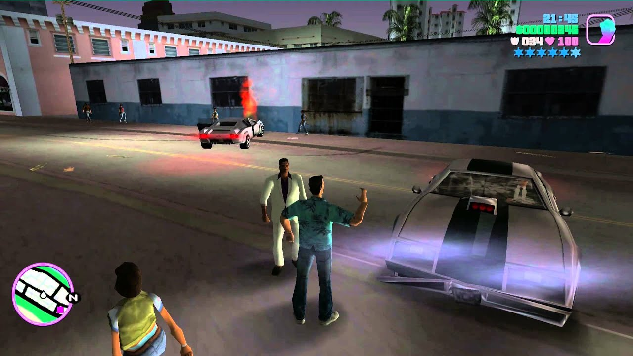 GTA: Vice City [PC] Gameplay [German] #1