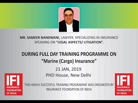 Legal Aspects/ Litigation by Sameer Nandwani, Lawyer, Specializing in Insurance