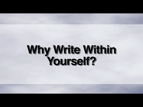 Writing Within Yourself