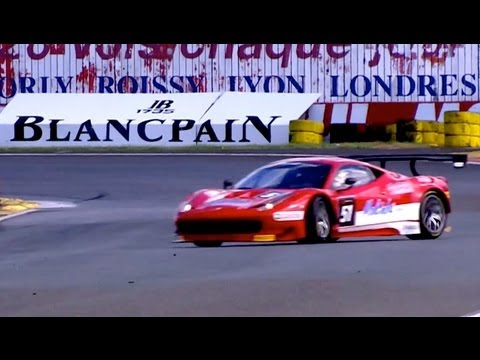 FIA GT - France - Qualifying Incidents - Nogaro