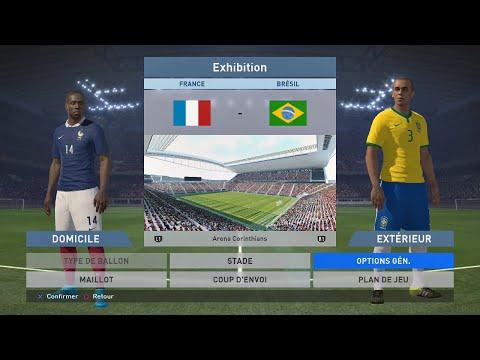 PES 2016 France 3-0 Brésil (IA Superstar Ragequit)