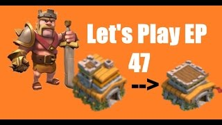 Clash of Clans Lets Play Episode 47: UPGRADE TO TOWN HALL 8!!
