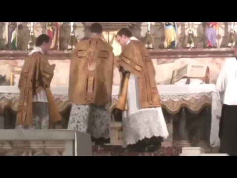Tridentine High Mass for the Vigil of the Nativity 25.12.2015