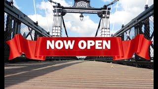 The Ferry Bridge; Reopening