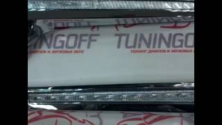 TUNINGOFF.RU - Вставки с поворотником в стиле Lexus на Toyota Land Cruiser 200 2016+